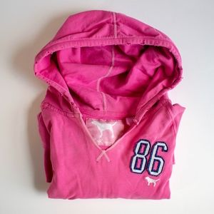 PINK Victoria's Secret Fitted Hoodie - Medium